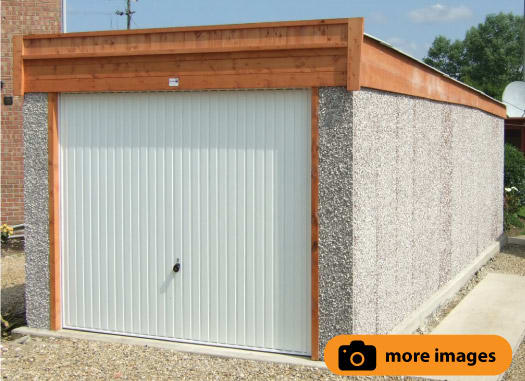 hanson garage doorKnight range  Pent Roof  Hanson Concrete Garages