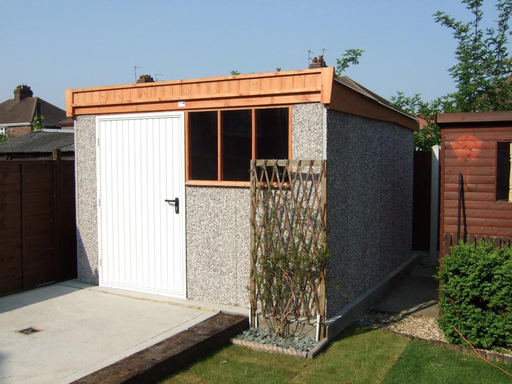 Sheds and workshops hanson concrete garages for Garages and workshops