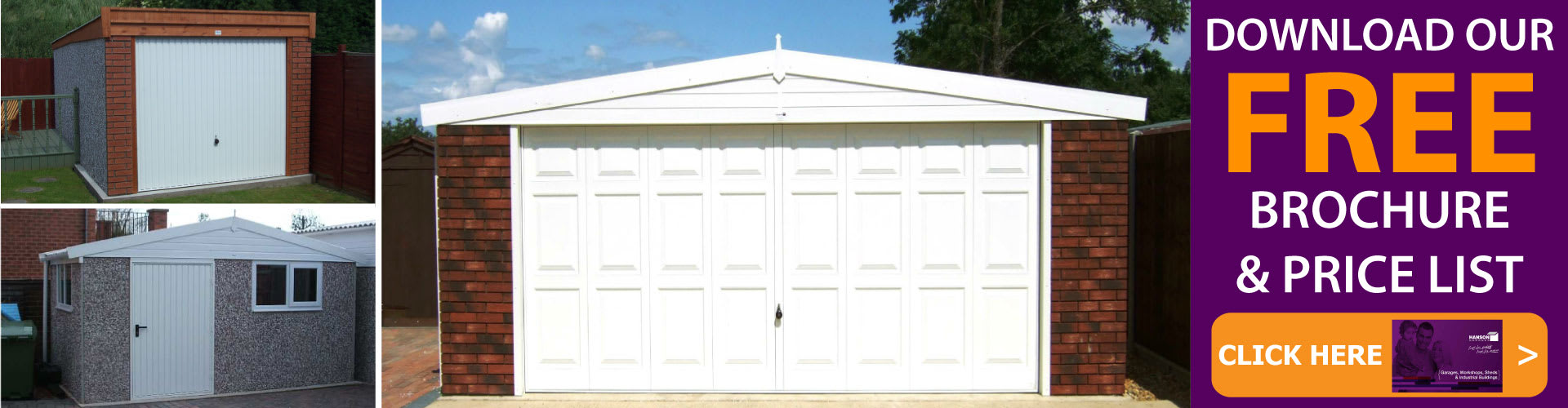 Free Concrete Garages Brochure And Price list