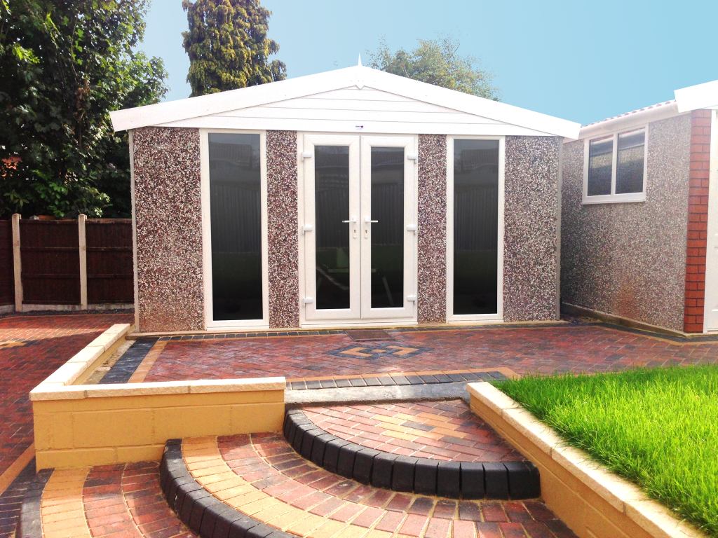 The Garden Building Range Hanson Concrete Garages