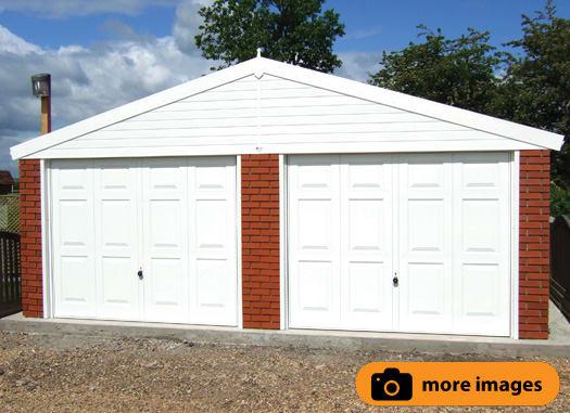 Apex Roof Garages   Monarch Range