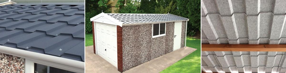 Pro Tile Roof Hanson Concrete Garages
