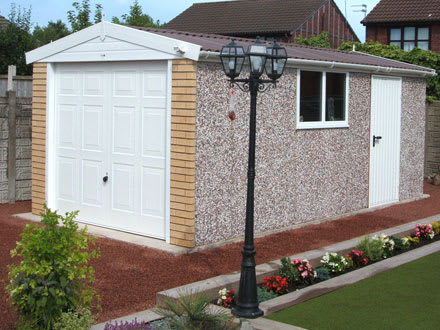 Hanson Concrete Garages – First for quality, First for service