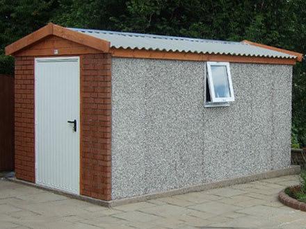 concrete sheds