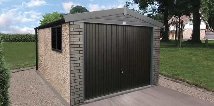 Fertiggarage beton  Hanson Garages Launch The Graphite Garage | Hanson Concrete Garages