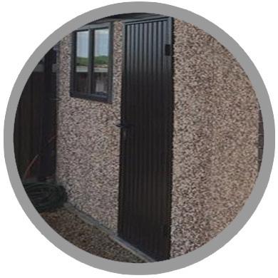graphite doors