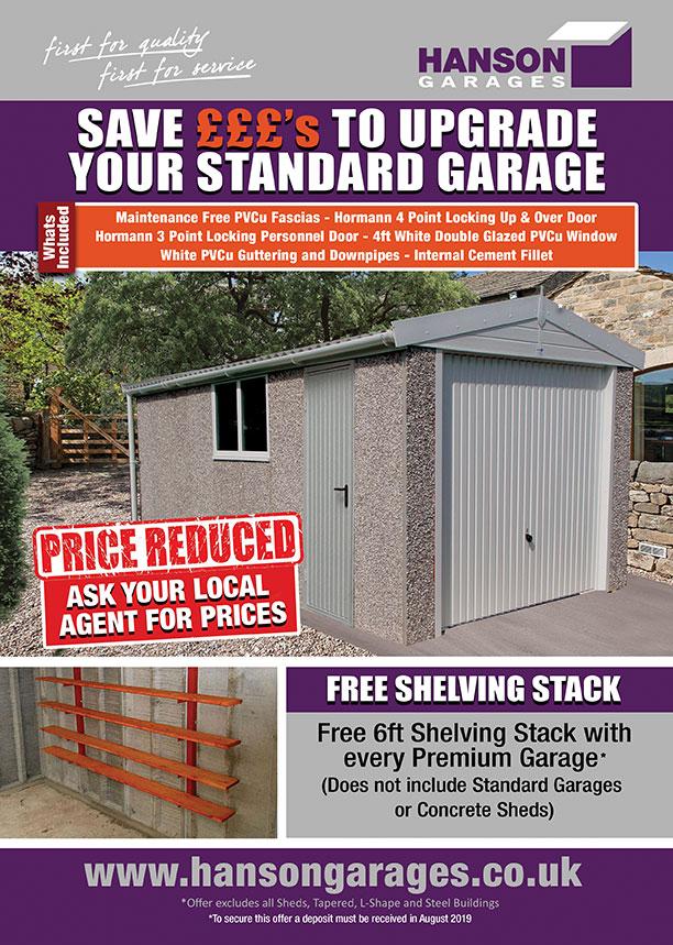 Offers – Hanson Concrete Garages