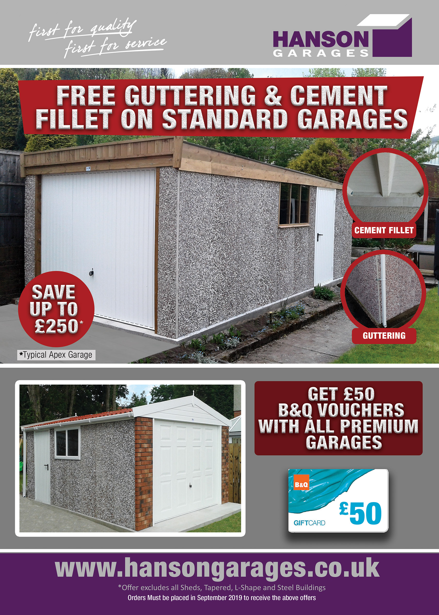 Concrete Garages Free Offer