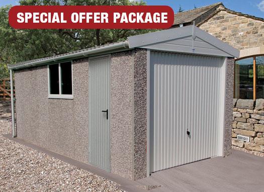 Apex Range Hanson Concrete Garages, Prefab Garage Panels Uk