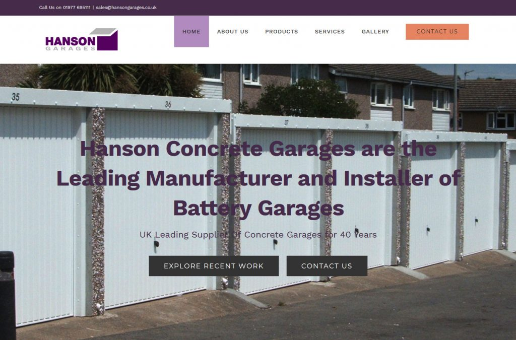battery garages website