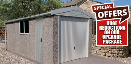 sectional garage offer