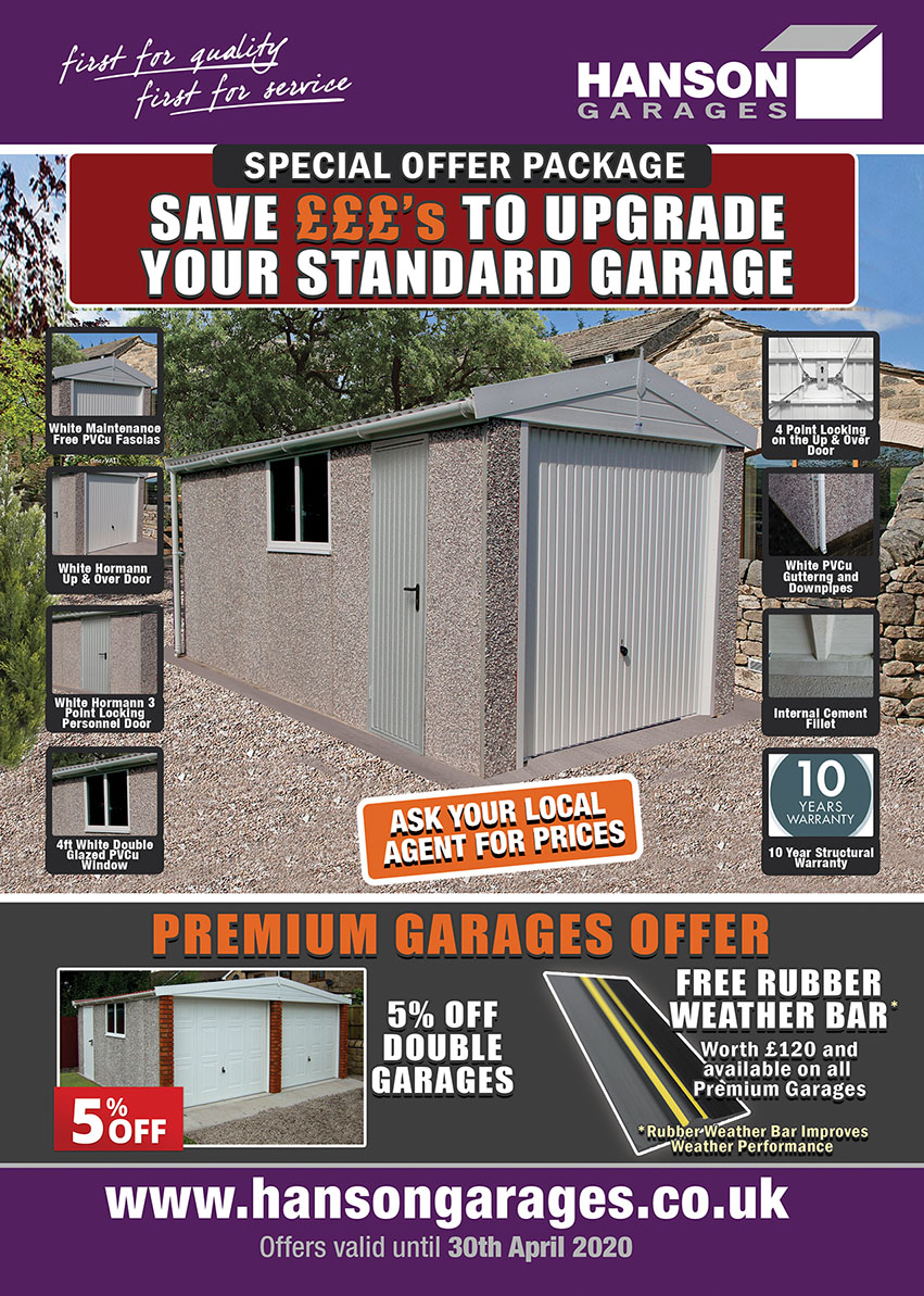 concrete garages offers