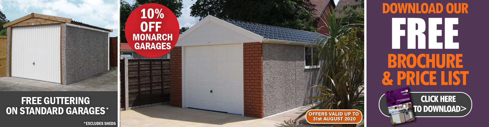 Concrete Garages Offer