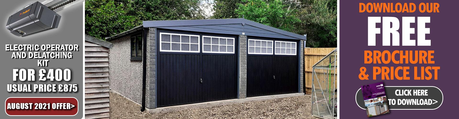Hanson Garages Offer
